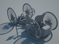 quadricycle chassis 3ds