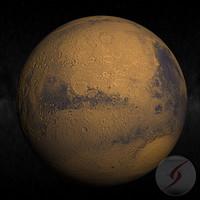 3dsmax planeta planet mars