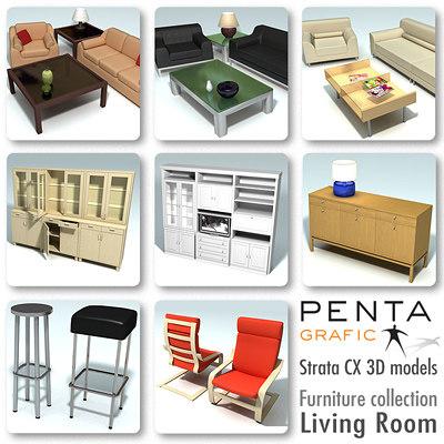 LivingRoom Furniture vol.1