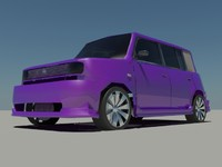 scion xb 3d max