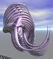skelton shell 3d model