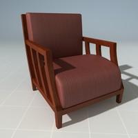 designer chair 3d model