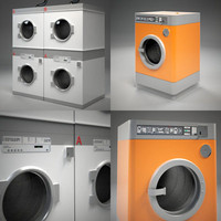 Public Laundry Machines  Set