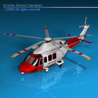 3d agusta westland 139 coastguard