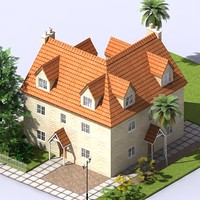 3d residential block