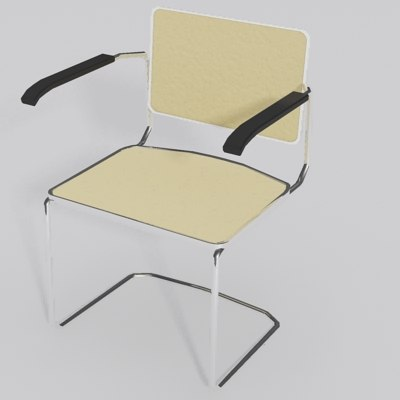 Cesca Arm Chair.MAX