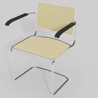 3d cesca arm chair