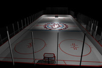 max hockey rink