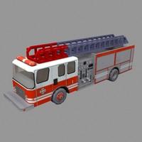 civillian truck 3d model