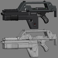 gun pulse rifle