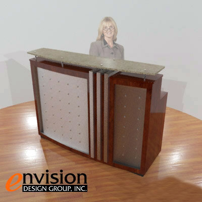 reception desk max - Reception Desk... by gwmventures