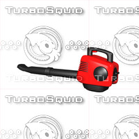 leaf blower 3d model