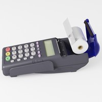 3d model credit card reader