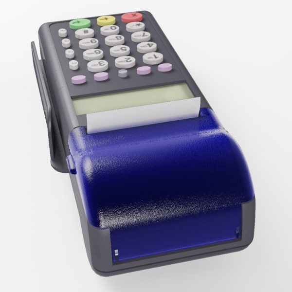 3d model credit card reader - Credit card reader  Verizone 1... by Recorridos Virtuales