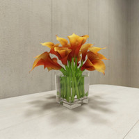 3ds contemporary flower arrangement