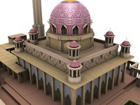 3d putrajaya mosque