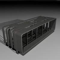 3dsmax designer bench
