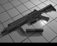 p90 3d model
