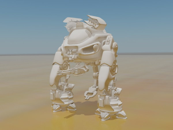 3d mech scorpion model - Scorpion Mech Model... by StormRisingOriginal