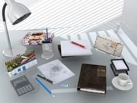 3dsmax office clutter