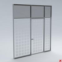 door office 3d dxf