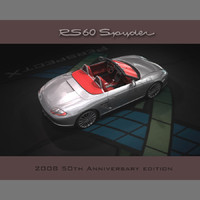 3d model rs 60 spyder car