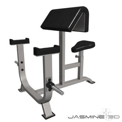 Gym_atlantis biceps preacher bench_001.zip