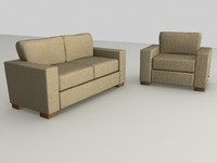 3d suite furniture model