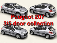 Peugeot 207 3/5 door collection