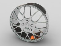 3d car alloy wheel model
