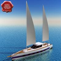 Sailing yacht Ricochet 2760