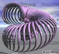 3d shell skelton