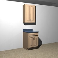 kitchen cabinet - 24 dxf