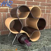 wine holder 00 3d model