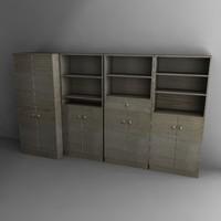 cupboards 3d obj