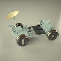 lunar rover 3d 3ds