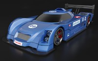 Le Mans racing car