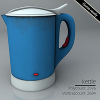 3ds max electric kettle