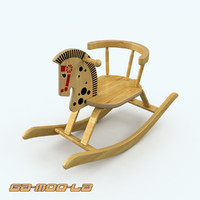 3ds max childrens rocking horse
