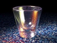 shot glass obj
