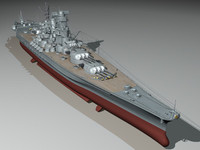 YAMATO battleship Huge model