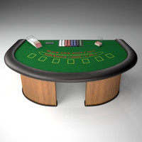 Black Jack Table