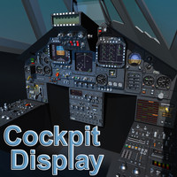 F117 Cockpit Display