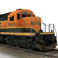 3ds max train