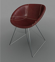 Chair Gliss cuoio