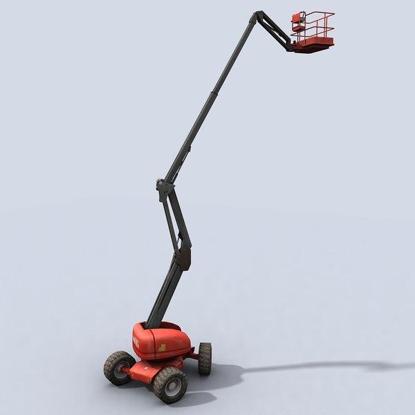 cherry picker machine