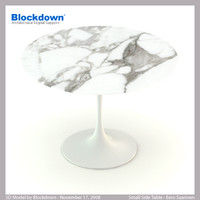 3d model eero saarinen table