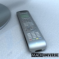 logitech harmony 515 remote control 3d model