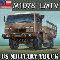US.TRUCK CARGO M1078 LMTV