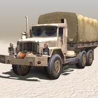 3d military truck 02